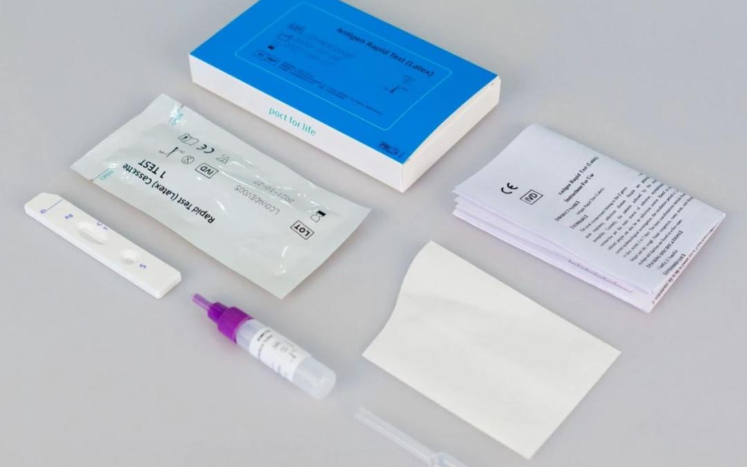 Covid-19 Testy ze slin – skladem – ihned k dodání